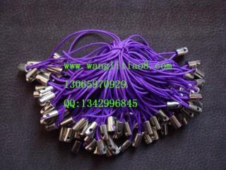 8000032--每包100个--简易型手机链--紫色