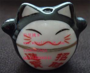 8000375--黑色车挂猫--平安吉详-招财进宝