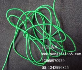 8000447--每包10米装-- DIY饰品配件弹性线材--绿色