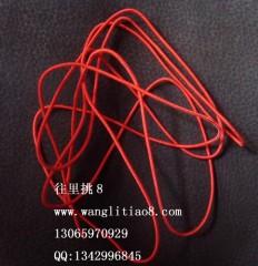 8000444--每包10米装--DIY饰品配件弹性线材--红色