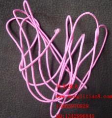 8000448--每包10米装--DIY饰品配件弹性线材--粉红色