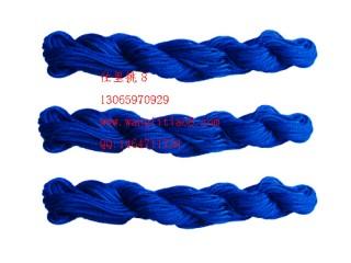 8000816--10M装--DIY饰品配件粗编织线--宝蓝色
