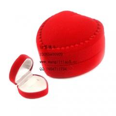 8000828--每包4装--饰品类戒指盒--红色