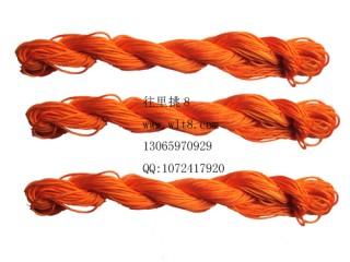 8000827-- 10米--DIY饰品配件粗编织线--橙色