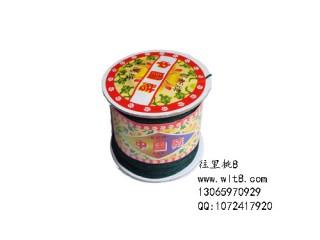 8000669--150米线材系列中国结线--墨绿色