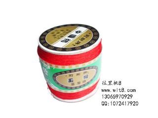 8000835--350米特细线材系列中国结线--红色