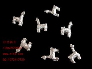 8205031--每包100个--独饰源藏银古银--小马