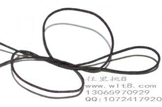 8000442--10米装--DIY饰品配件弹性线材--咖啡色