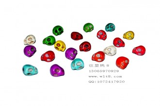 8000363--每包20个--13号天然石骷髅怪
