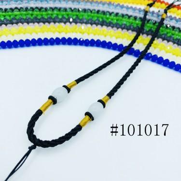8001156--每包100条--多珠多水晶项链