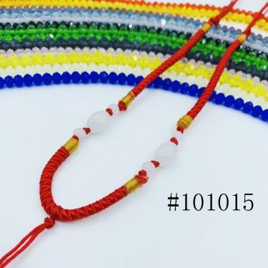 8001035--每包100条--多珠多水晶项链
